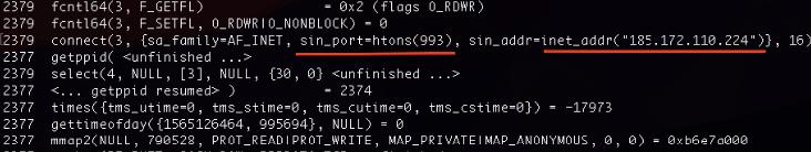 図6 185.172.110[.]224で稼働するC2サーバーに993/tcpで接続