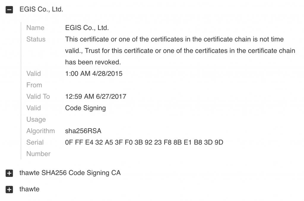図5 コードサインの詳細