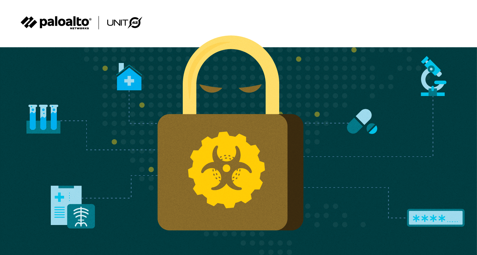 Conceptual image illustrating Ryuk Ransomware
