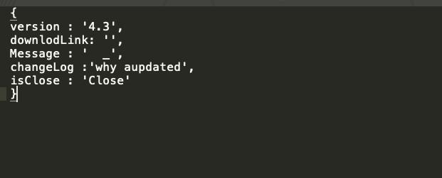 JSON形式のデータを使用するこのファイルの目的はわかっていませんが、構成ファイルとして使用される可能性があります。