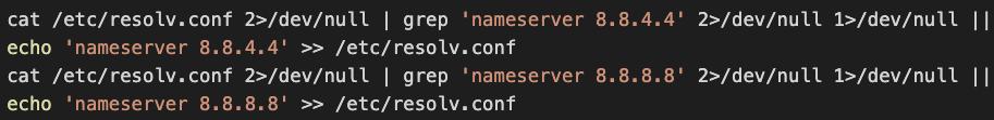 Hildegardは、システムDNSリゾルバを変更し、GoogleのパブリックDNSサーバーを使用して、DNS監視ツールによって検出されないようにします。