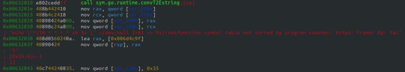 *NIXシステムの場合は、cronジョブ経由でマイニングソフトウェアを埋め込みます。phpguardの関連するセクションをここに示します。