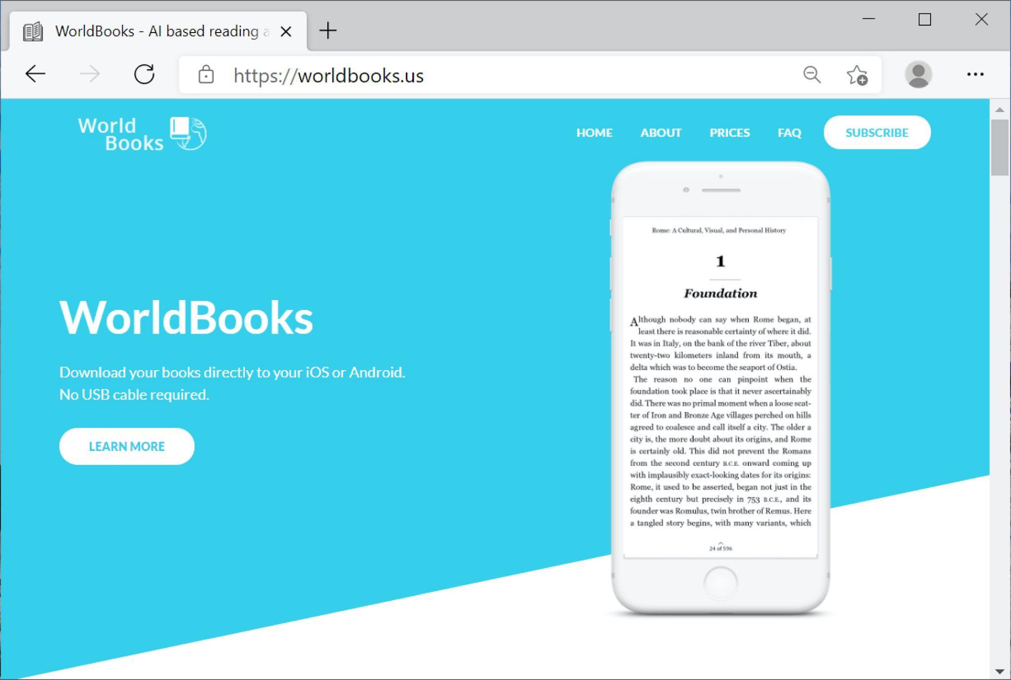 BazarCallの手法で使用されるニセWebサイトのスクリーンショット。