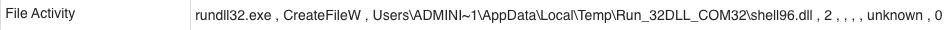 図12 shell96.dllをディスクに書き込む