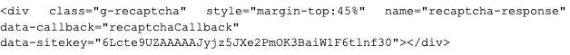 CAPTCHA のキーを HTML から抽出する方法もあります。この例は最近のOutlookのフィッシングキャンペーンで使用されたものです。